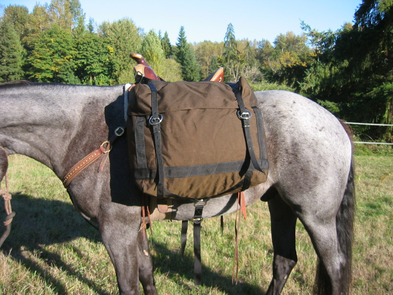 how to make a horse pack saddle